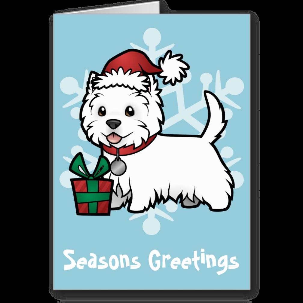 Dog wearing shoes clipart clipart Cute Westie Christmas Card   westie stuff♡☆♡   Pinterest ... clipart
