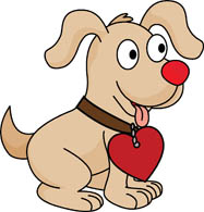 Dog with hearts clipart vector free download Search Results - Search Results for puppy Pictures - Graphics ... vector free download