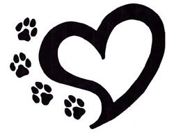 Dog with hearts clipart black and white library 17 Best images about Wildcats on Pinterest | Clip art, Baseball ... black and white library