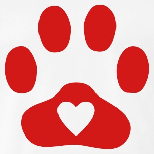 Dog with hearts clipart png freeuse library Print T-Shirts | Spreadshirt png freeuse library