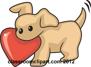 Dog with hearts clipart svg download Heart dog clipart - ClipartNinja svg download