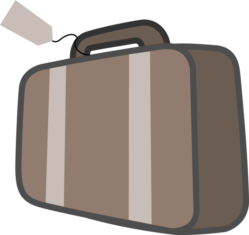 Travel baggage backpack free. Dog with suitcase clipart
