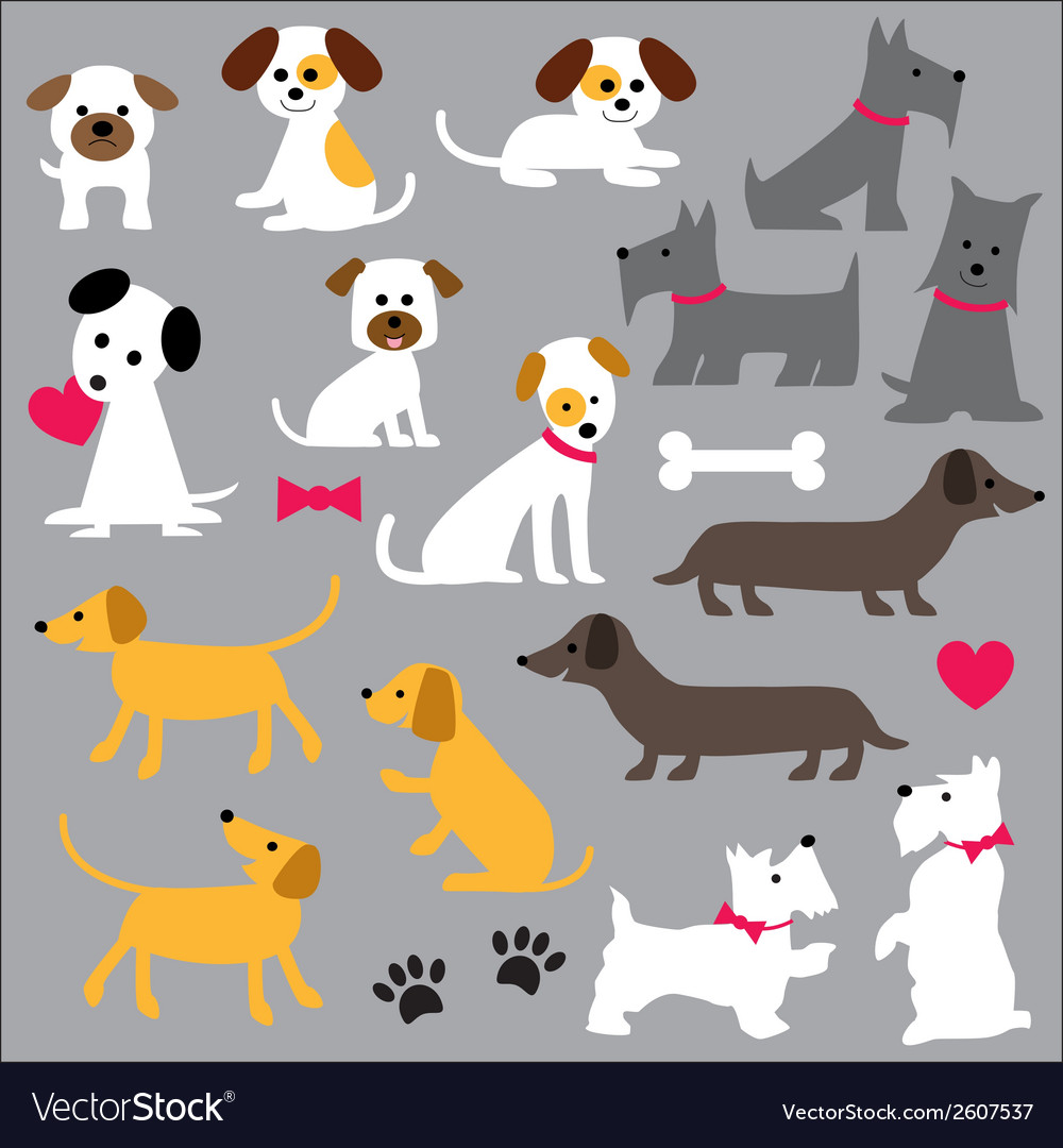 Dogs clipart image black and white stock Dogs clipart image black and white stock