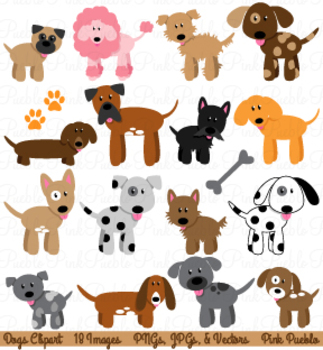 Dogs clipart clip freeuse Dogs Clipart and Vectors clip freeuse