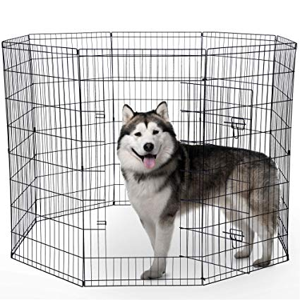 Dogs sitting on a fence with tails clipart back view image library stock Dog Exercise Pen Pet Playpens for Dogs - Puppy Playpen Outdoor Back or  Front Yard Fence Cage Fencing Doggie Rabbit Cats Playpens Outside Fences  with ... image library stock
