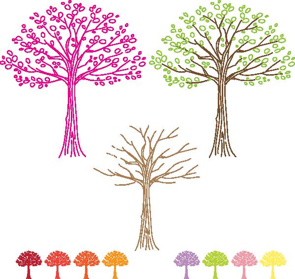 Dogwood tree clipart. Trees clip art at