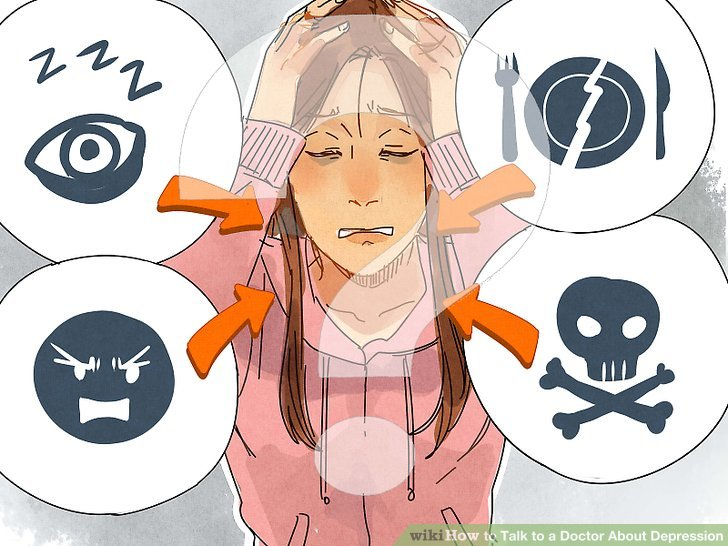 Doing homework depression clipart clip free stock 3 Ways to Talk to a Doctor About Depression - wikiHow clip free stock