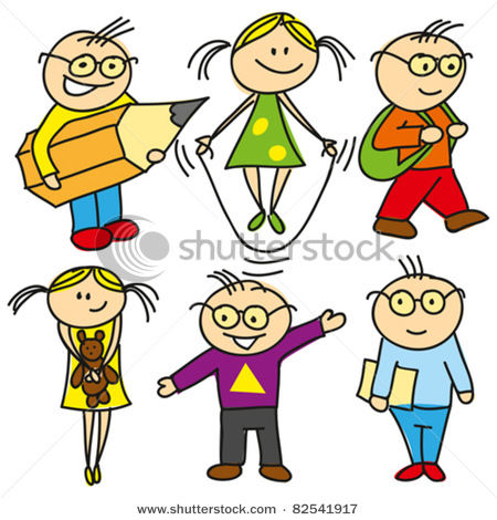 Doing things when asked clipart graphic library library Vector Clip Art Picture of Cartoon Boys and Girls, Children Playing ... graphic library library