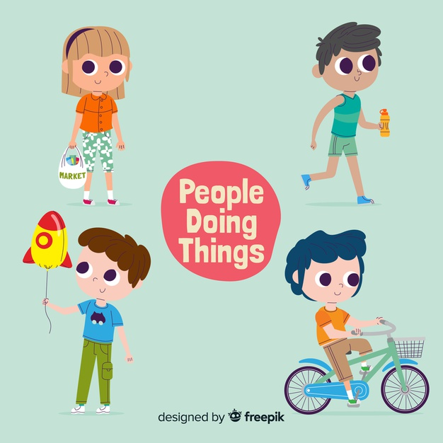 Doing things when asked clipart picture library download People doing things Vector | Free Download picture library download