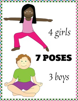 Doing yoga clipart png Yoga clipart - Diverse kids doing yoga png