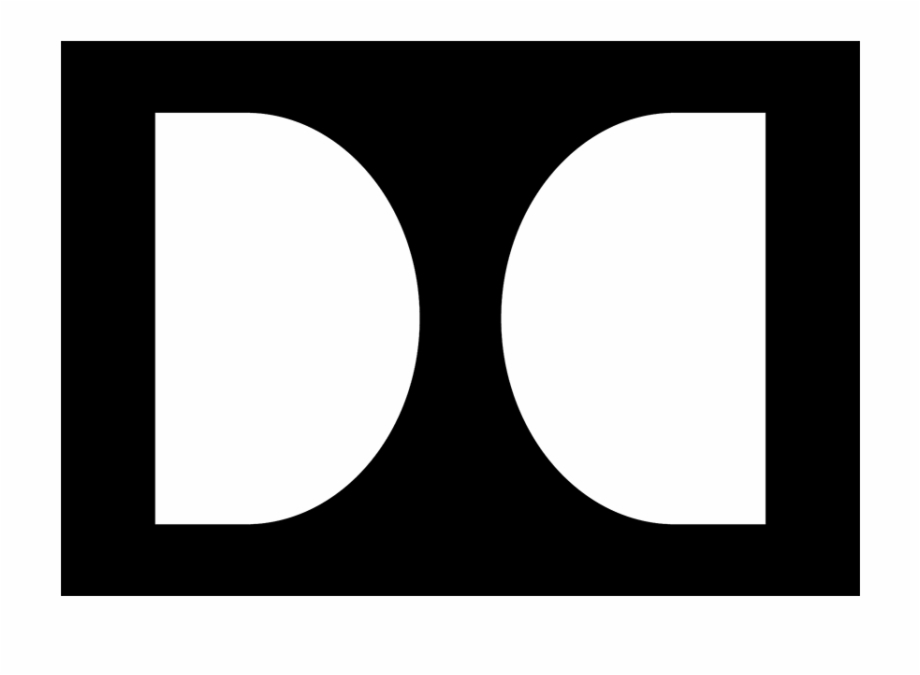 Dolby cinema clipart clipart free Dolby Laboratories Brand Logo Icon - Logo With A Black Rectangle ... clipart free