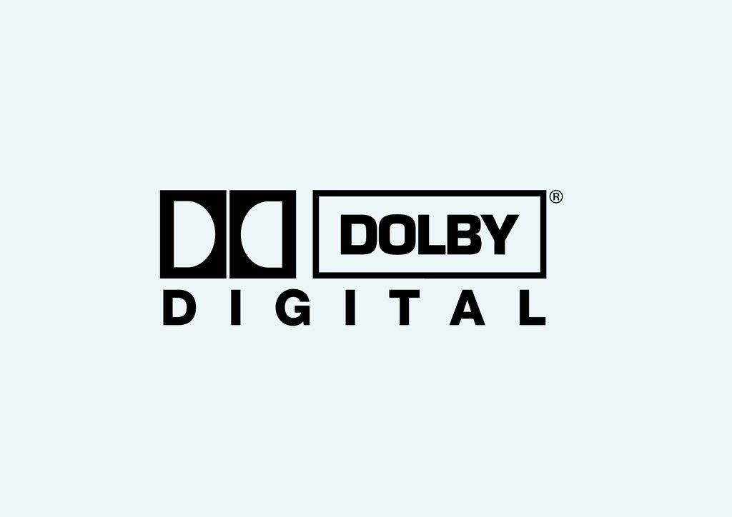 Dolby digital plus clipart image black and white library Dolby Digital Vector Art & Graphics | freevector.com image black and white library