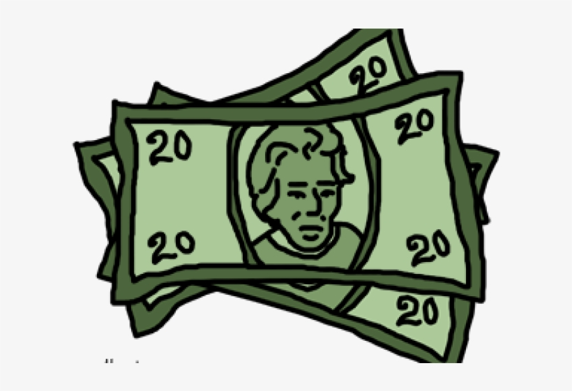 Dollar bill clipart png banner download Cliparts $20 Bill - United States Twenty-dollar Bill - Free ... banner download