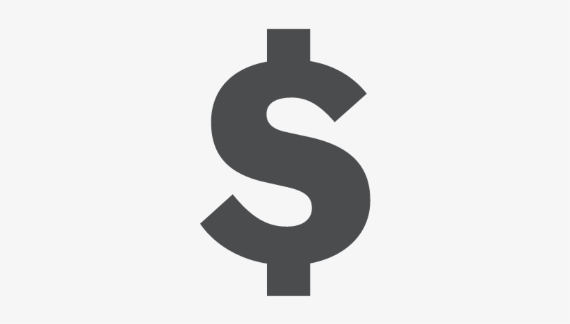 Dollar sign icon clipart royalty free library Grey Clipart Dollar Sign - Dollar Sign Icon Grey Transparent PNG ... royalty free library