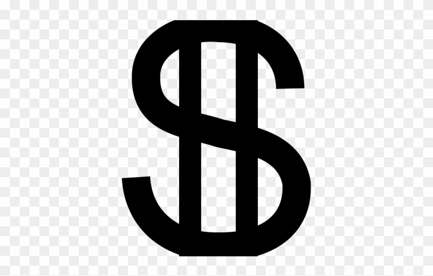 Dollar sign icon clipart banner freeuse library Dollar Clipart Icon - Dollar Sign Black And White Png Transparent ... banner freeuse library
