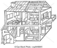 The white house clipart inside vector freeuse stock 114 Best rooms images   House clipart, The house, English language vector freeuse stock