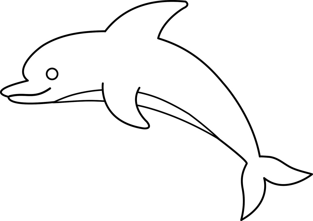 Dolphin black and white clipart image royalty free Free Dolphin Images Download Clip Art On Peaceful Clipart Black And ... image royalty free
