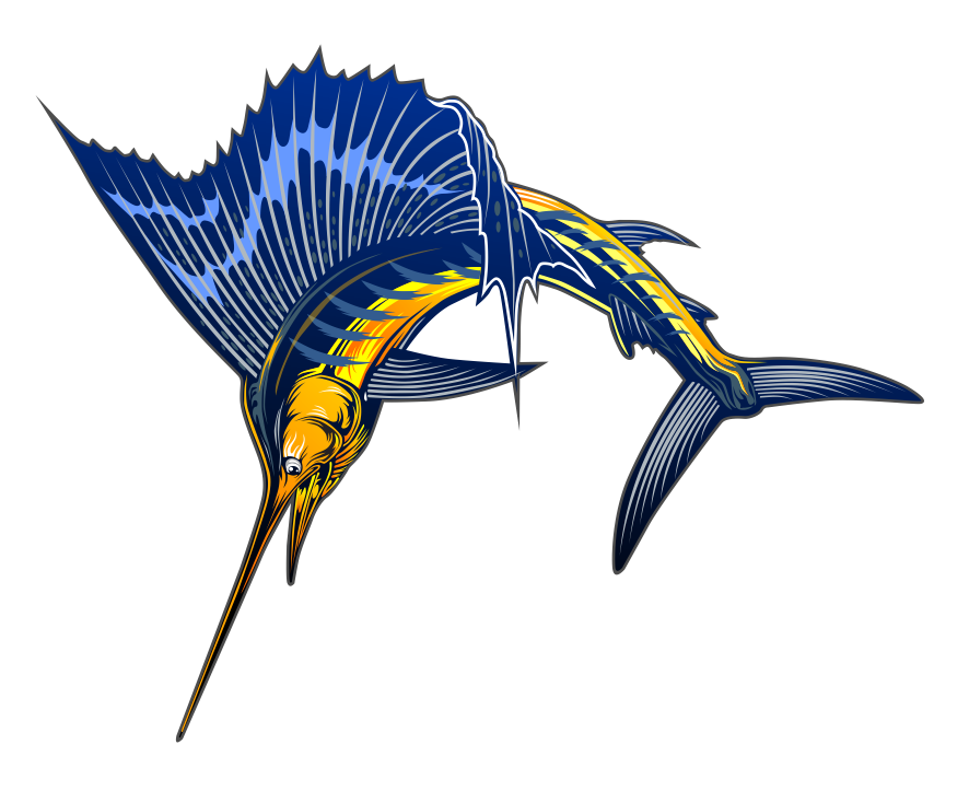 Sea creatures at getdrawings. Dophin fish clipart