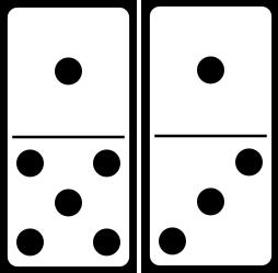 Domino clipart black and white clipart free Dominoes Clipart | Free download best Dominoes Clipart on ClipArtMag.com clipart free