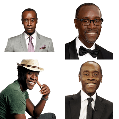 Don cheadle clipart freeuse library Don Cheadle   STICKPNG - free transparent PNG images   Cut out ... freeuse library