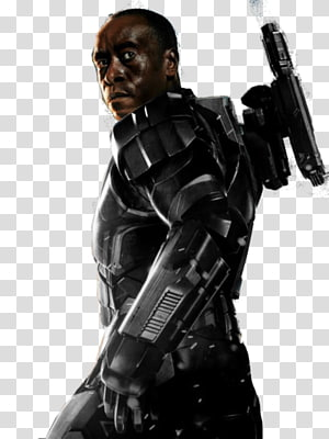 Don cheadle clipart picture black and white Iron Man 3 transparent background PNG cliparts free download   HiClipart picture black and white