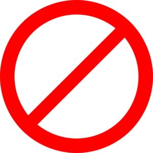 Don like clipart vector library I don't like it clipart - ClipartFox vector library