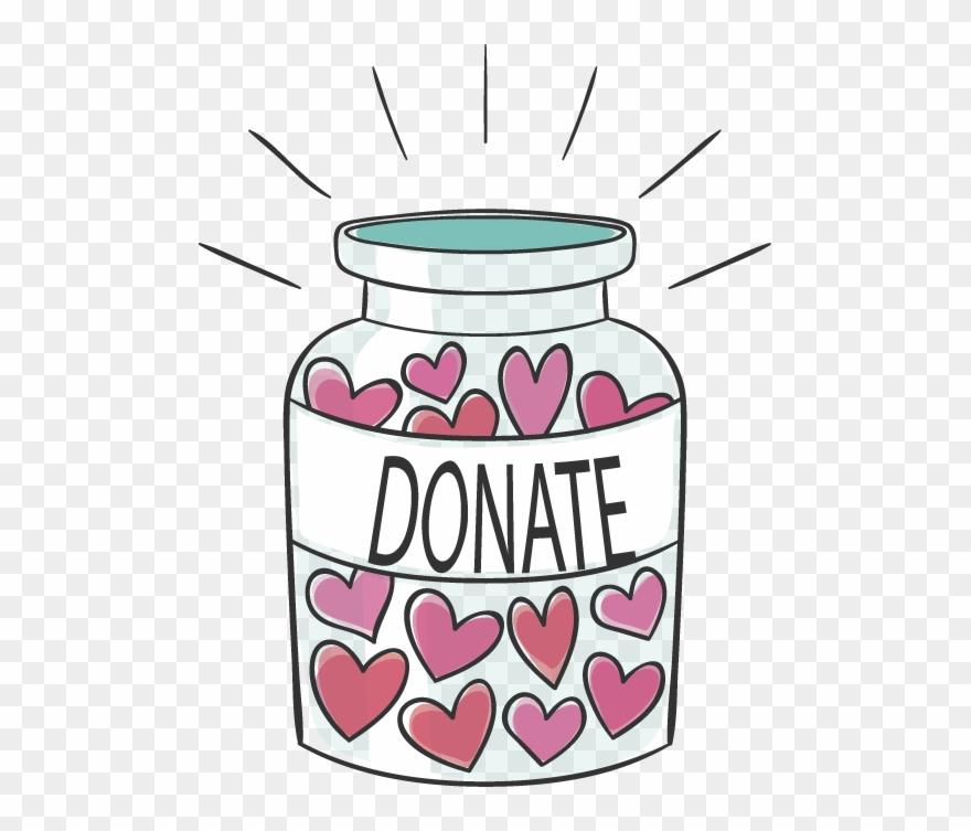 Donate clipart vector freeuse Donation Jar - Donate Jar Clipart (#2091209) - PinClipart vector freeuse