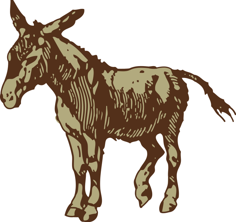 Donkey basketball clipart images clipart transparent download Donkey Animal Clipart Pictures Royalty Free | Clipart Pictures Org clipart transparent download