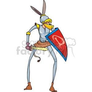 Donkey ears clipart graphic transparent stock Democrat knight with donkey ears clipart. Royalty-free clipart # 385733 graphic transparent stock