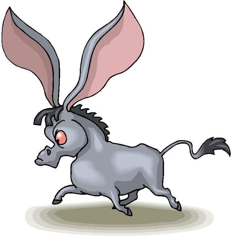 Donkey ears clipart jpg black and white download Long Ear Donkey Free Clipart   Free Microsoft Clipart jpg black and white download