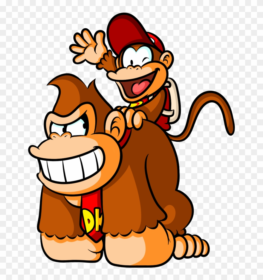 Donkey kong cliparts clip black and white library Donkey - Donkey Kong Cartoon Drawing Clipart (#1206938) - PinClipart clip black and white library