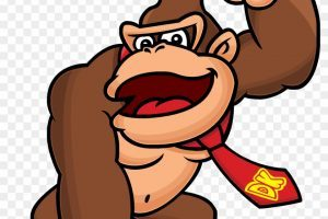 Donkey kong cliparts graphic transparent Donkey kong clipart 2 » Clipart Portal graphic transparent