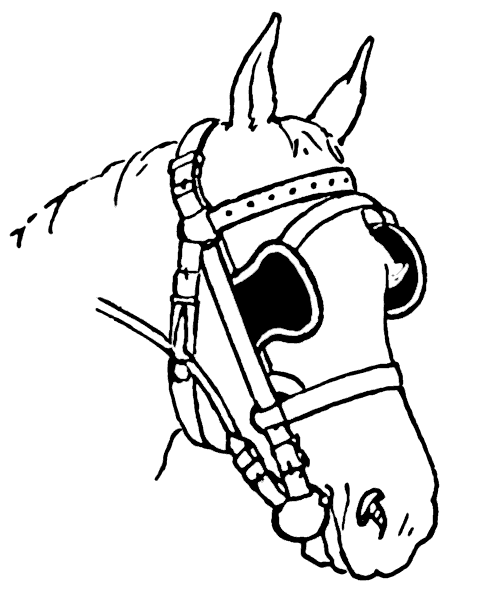 Donkey with blinders clipart jpg royalty free stock Free Horse Blinders Clipart, 1 page of free to use images jpg royalty free stock