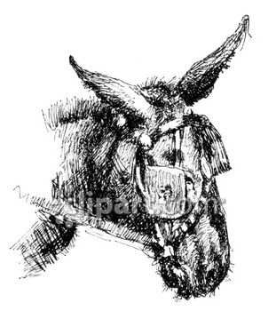 Donkey with blinders clipart banner download Blinders and wearing clipart image | Clipart.com banner download