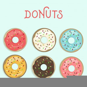 Donut clipart free graphic library stock Free Donut Clipart | Free Images at Clker.com - vector clip art ... graphic library stock