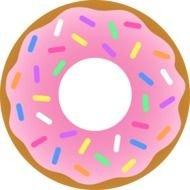 Donut hole clipart
