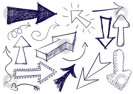 Doodle arrow clip art image black and white Doodle arrow clipart free - ClipartFest image black and white