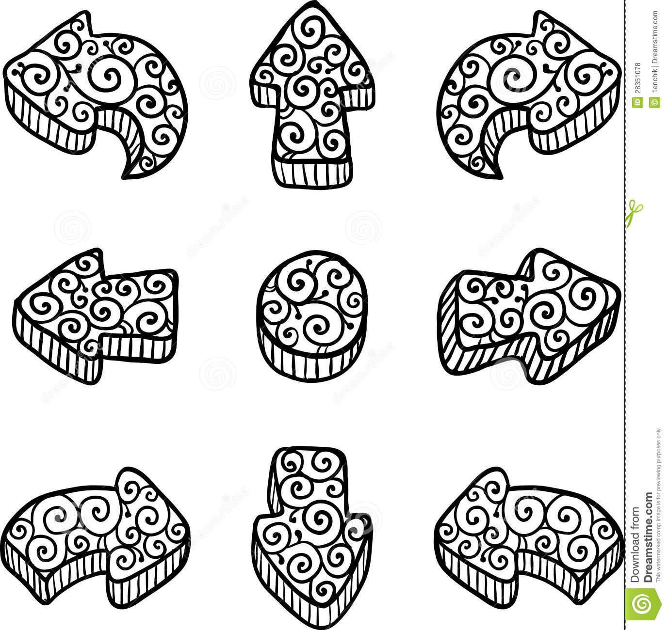 Doodle arrow clip art png free Doodle arrow clipart free - ClipartFest png free