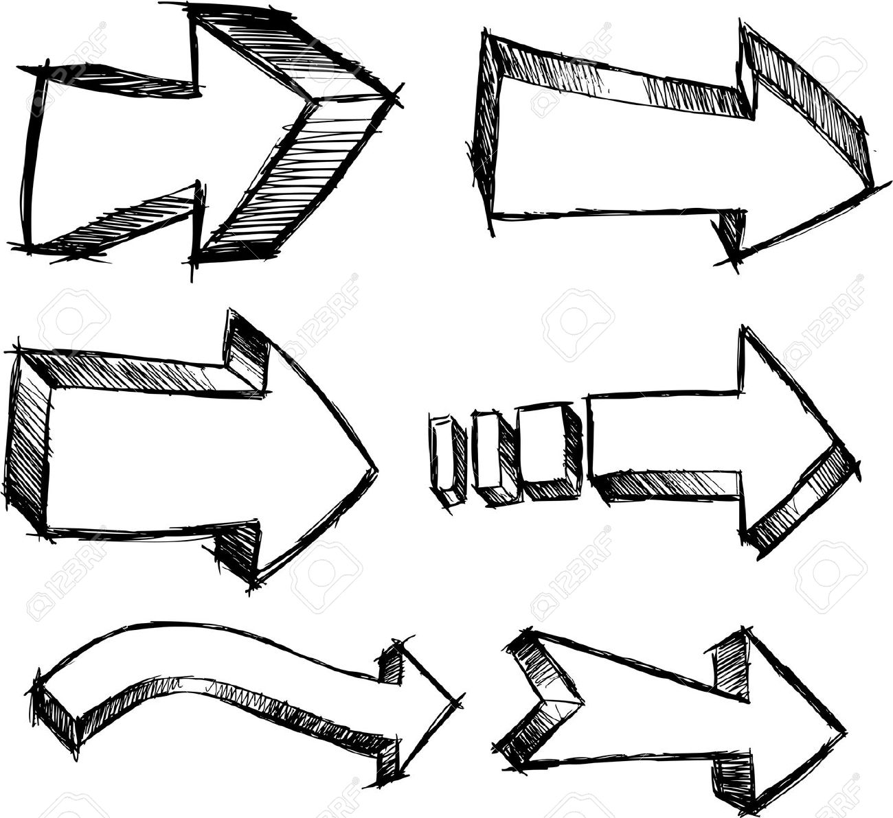 Doodle arrow clip art clipart royalty free download Doodle arrow clip art - ClipartFest clipart royalty free download