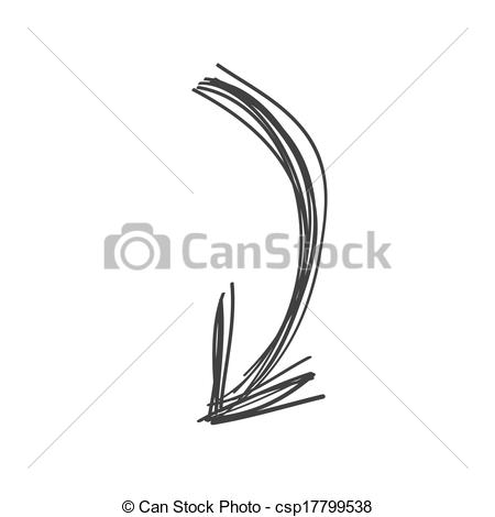 Doodle arrow clipart curved banner royalty free stock Clipart of curved line arrow - ClipartFest banner royalty free stock