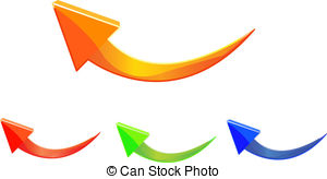 Doodle arrow clipart curved jpg black and white stock Curved arrow Stock Illustration Images. 17,659 Curved arrow ... jpg black and white stock