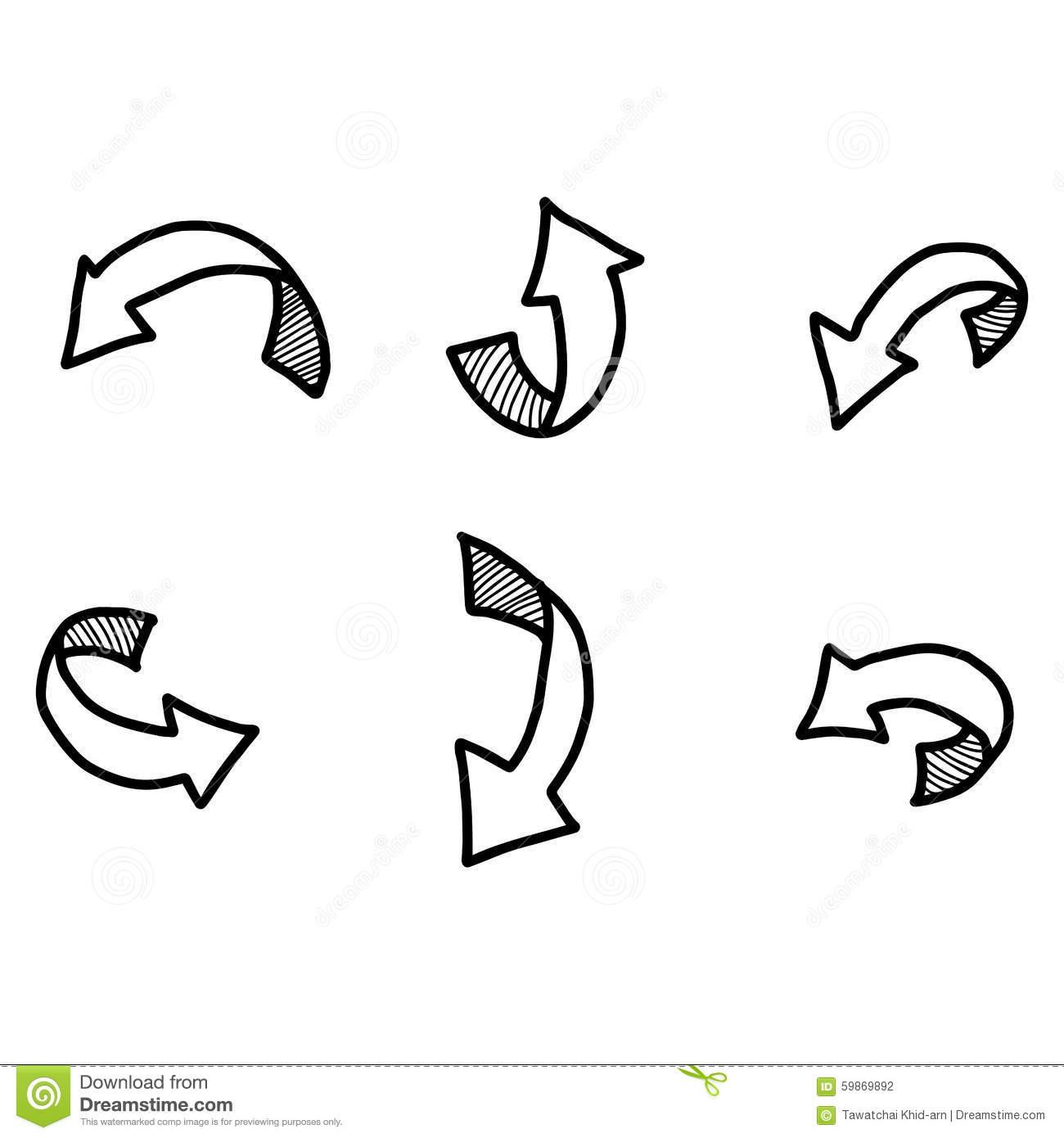 Doodle arrow clipart curved download Doodle arrow clipart curved - ClipartFest download