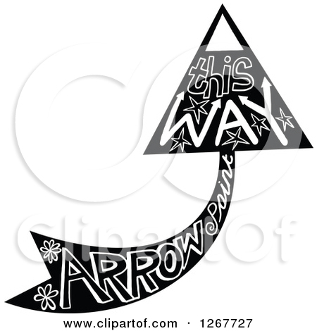 Doodle arrow clipart curved clipart freeuse Clipart of Colorful Square Shaped Arrow Icons with Rounded Corners ... clipart freeuse