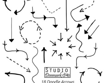 Arrow doodle clipart - ClipartFest clipart free stock