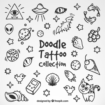Doodle clipart free black and white download Doodle Vectors, Photos and PSD files | Free Download black and white download