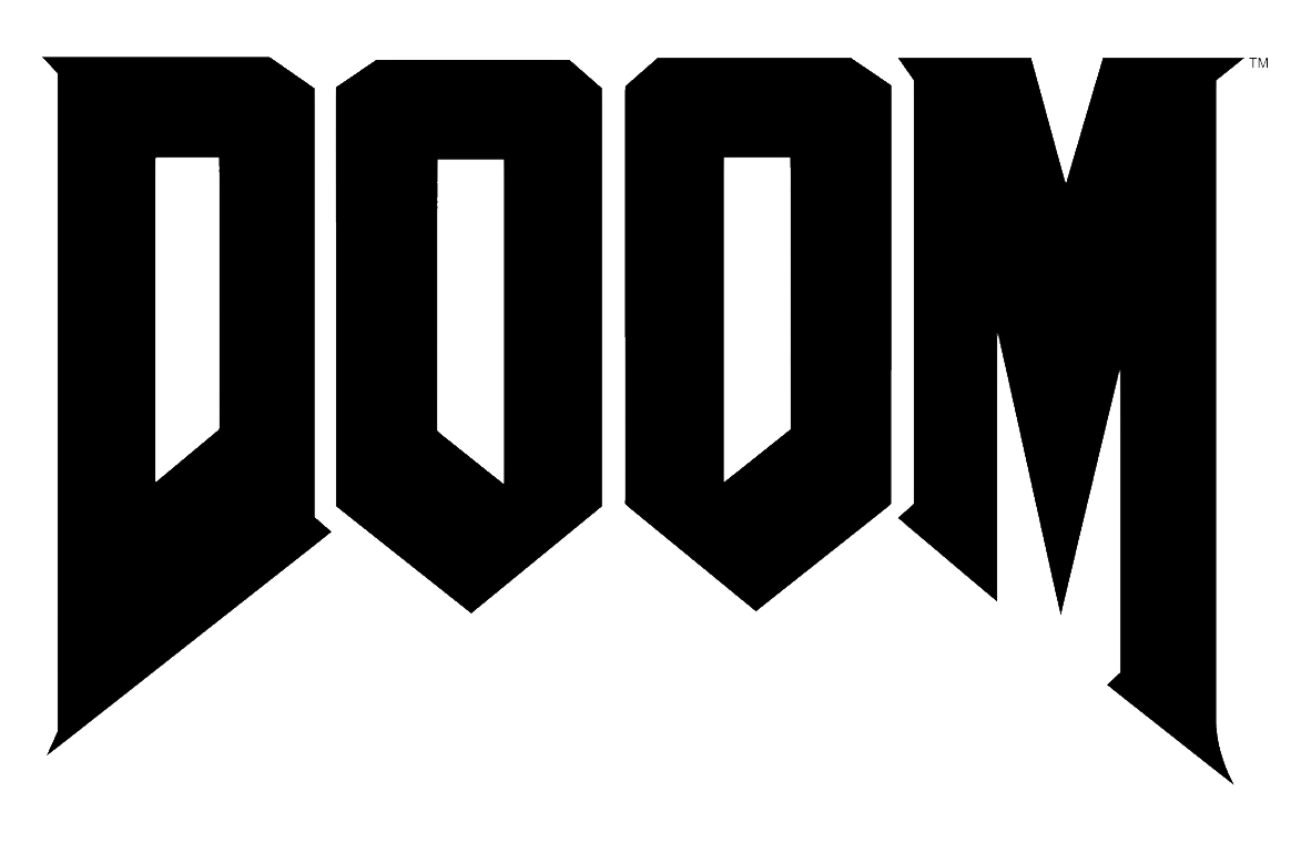 Doom clipart svg picture free File:Doom logo.png - Wikimedia Commons picture free