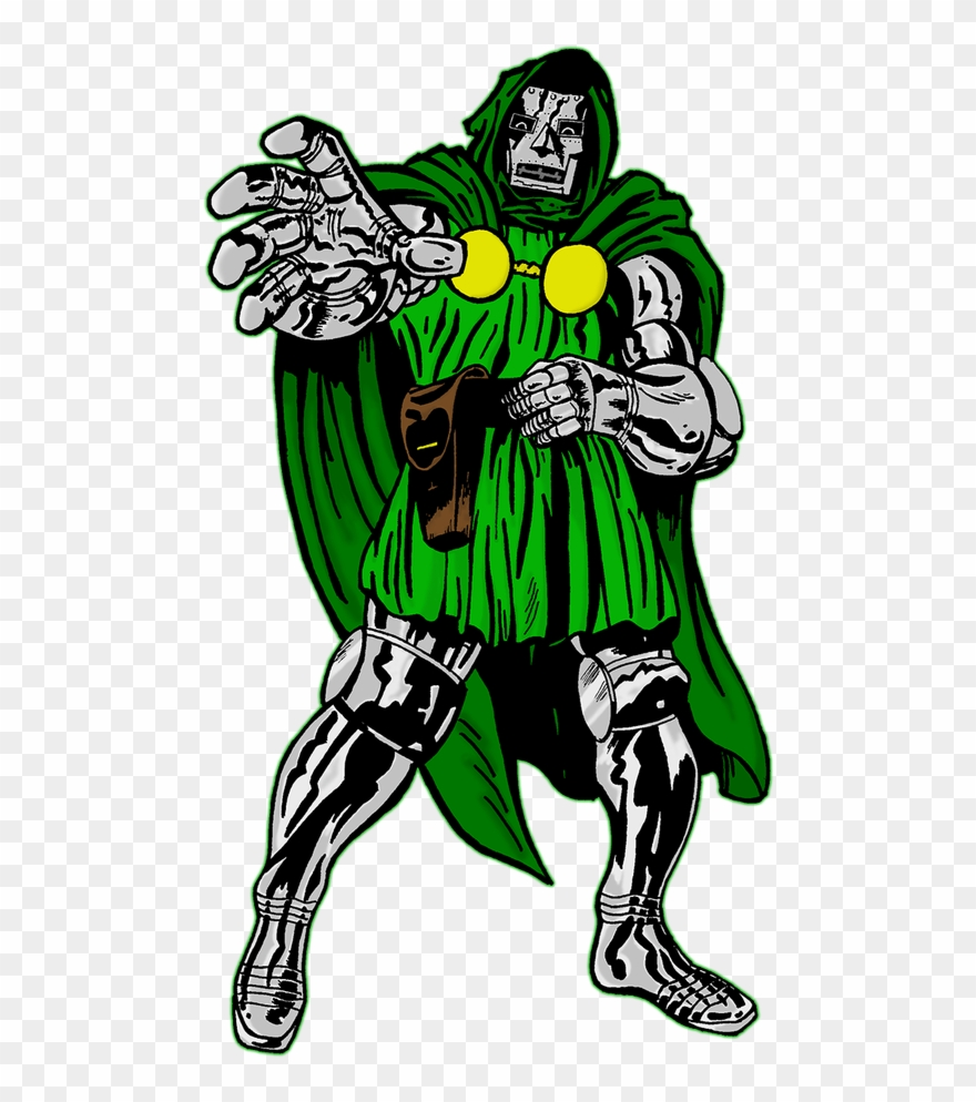 Doom clipart svg vector transparent The Joker Is A Homicidal Maniac And The Archenemy Of - Doctor Doom ... vector transparent