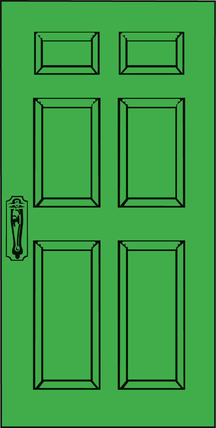 Door 1 clipart vector library stock Free Doors Cliparts, Download Free Clip Art, Free Clip Art on ... vector library stock