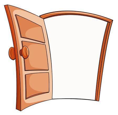 Door 1 clipart png library stock Clipart open door 1 » Clipart Portal png library stock