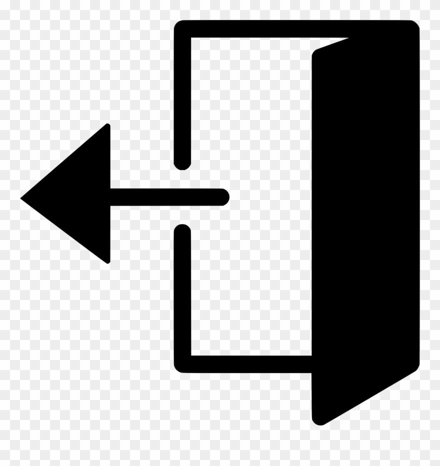 Door open clipart svg royalty free download Door Open Clip Art - Png Download (#105883) - PinClipart svg royalty free download